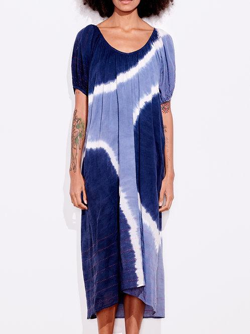 Sundry Embr Bubble Slv Maxi Dress