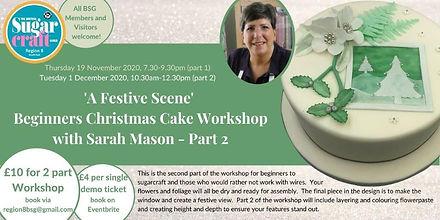 Beginners Christmas Cake Workshop Part 2