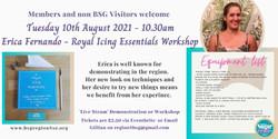 Erica Royal icing