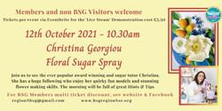 Oct Christina Georgiou Floral Spray  3.50