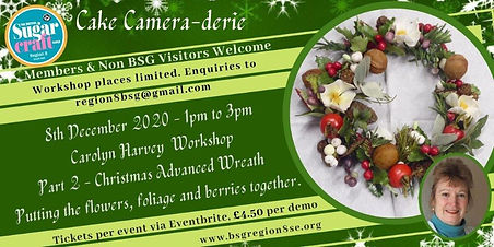 Carolyn Wreath Workshop poster use this