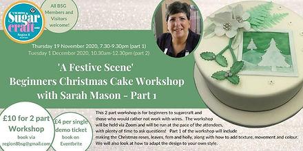 Beginners Christmas Cake Workshop Part 1