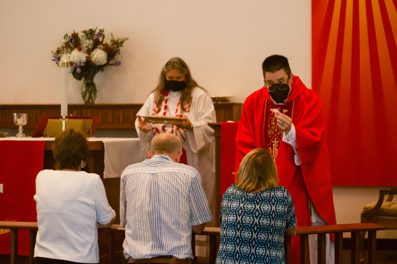 Bishop Megan Rohrer and Pastor Julie Vice of Faith Lutheran Church in Elko, NV