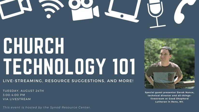 Church Technology 101