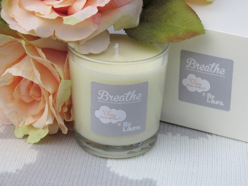 'Breathe' Pregnancy Candle