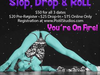 Workshop • Stop, Drop & Roll