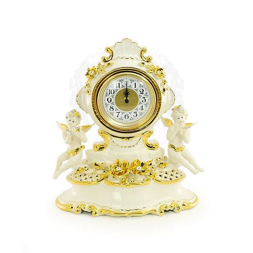 Часы настольные с ангелочками