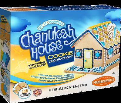 Manischewitz Chanukah House Kit