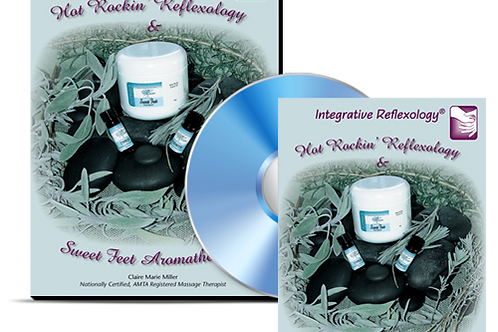 Hot Rockin' Reflexology and Sweet Feet Aromatherapy DVD and Booklet Set