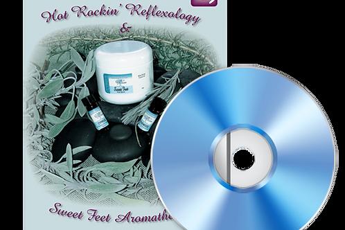 Hot Rockin' Reflexology and Sweet Feet Aromatherapy DVD