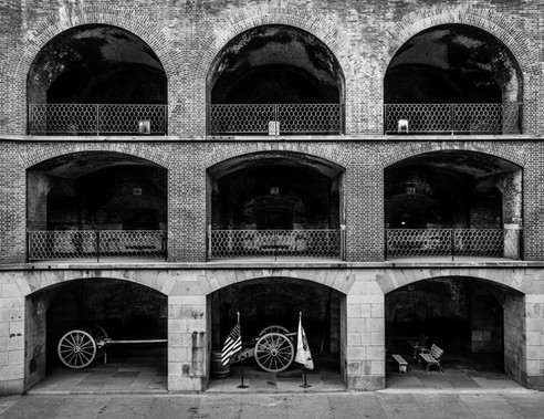 Arches of Fort Point