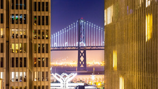 Bay Bridge Through the Gap