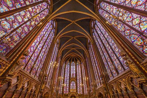 Saint-Chappelle Upper Floor