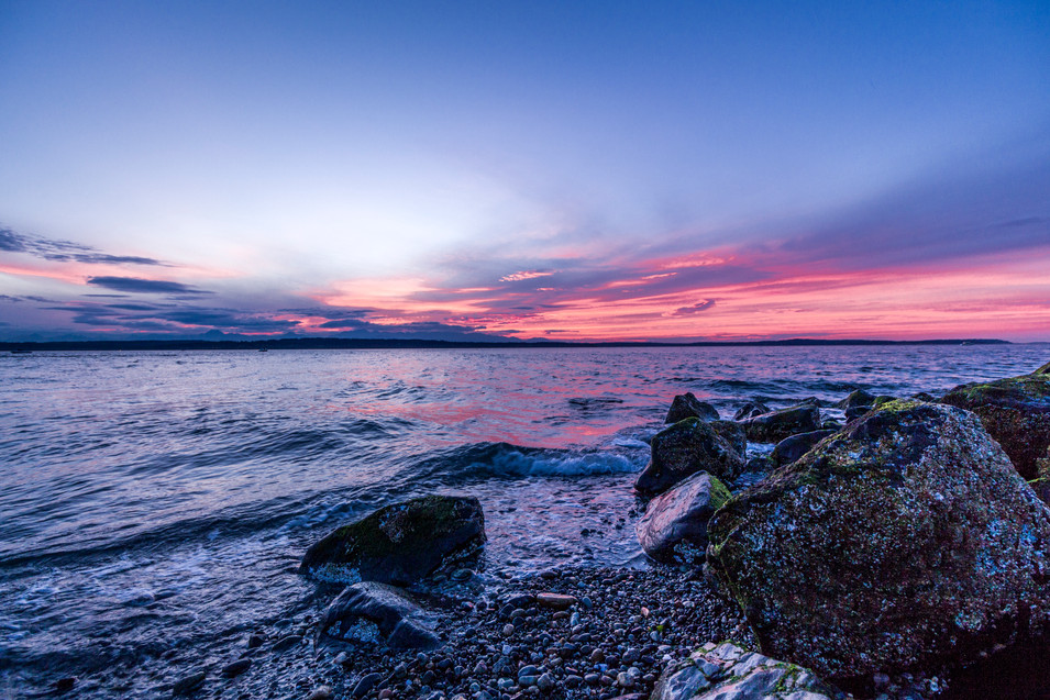 Sunset Skies at Discovery Park