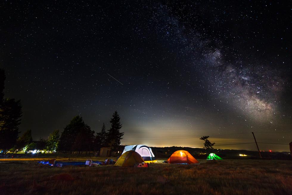 Milky Way over Buena Vista Oregon