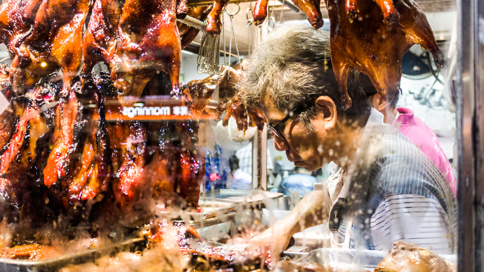 Butcher from Joy Hing