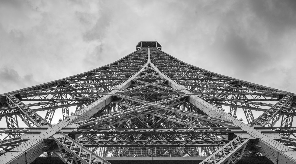 Eifel Tower from the mid section