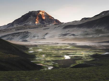 3000 km pešo naprieč Patagóniou - 2. časť, Traverz vulkánmi