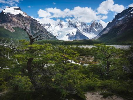 3000 km pešo naprieč Patagóniou - 6. časť, Od vulkánov k ľadovcom