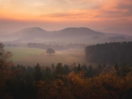 Lesní stezka Labské pískovce / Forststeig Elbsandstein (CZ/DE)