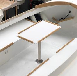 table de cockpit pour 4/5 adultes