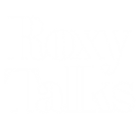 Roxy Talks Tee Logo white.png