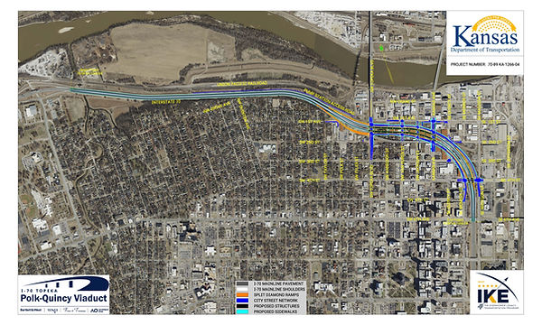 I-70 Polk Quincy Viaduct plan