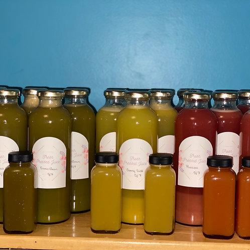 Juice Bundles (4 juices)