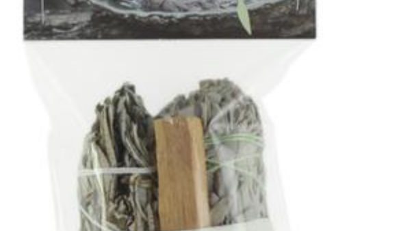 Smudging Kit Palo Santo - Sage - Yerba Santa - with Purification Instructions