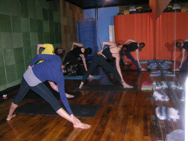 Iyengar Classes 2007