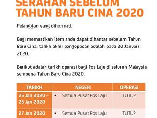 Notice By Pos Laju Malaysia