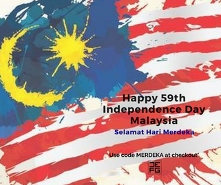 Happy 59th Independence Day Malaysia!