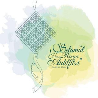 Selamat Hari Raya dan Aidilfitri!