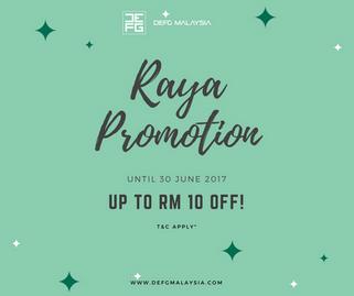 Raya Promotion!