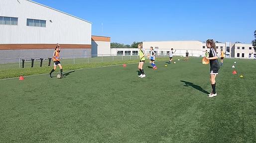 Camp de soccer filles U10 U11 U12 U13 U14 Saint Eustache CogiFit