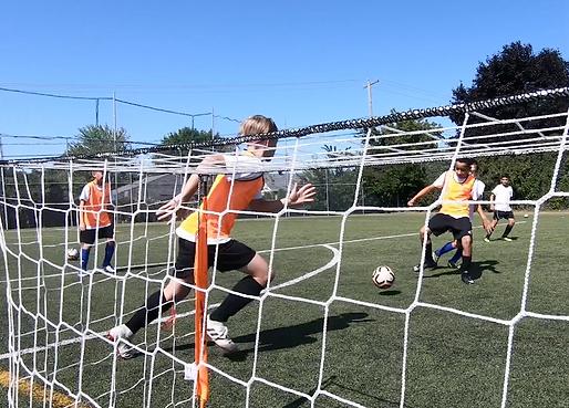 Entrainement de soccer U13 Clair Matin Saint Eustache CogiFit