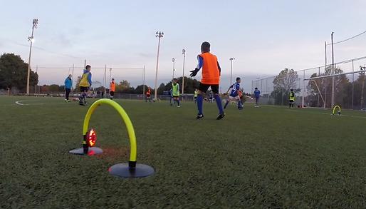 Entrainement de soccer U12 a Saint Eustache CogiFit