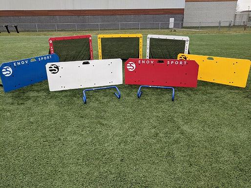 equipement de soccer Enovsport planche a rebond et mini but