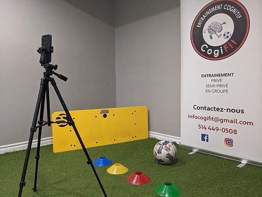 Entrainement de foot virtuel U8, U9, U10, U11, U12, U13, U14, U15 CogiFit