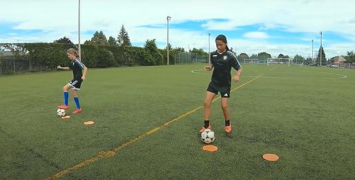 Entrainement de soccer feminin semi prive Saint Eustache CogiFit