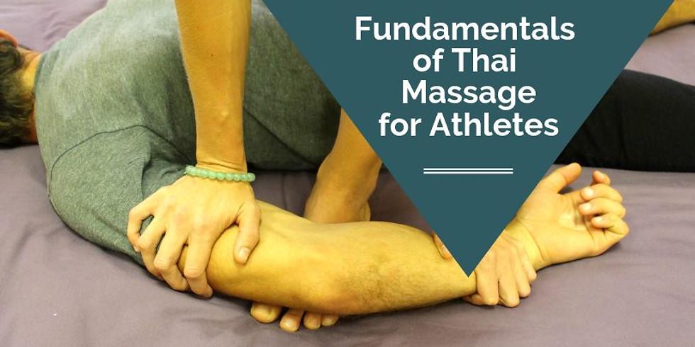 Fundamentals of Thai Massage for Athletes