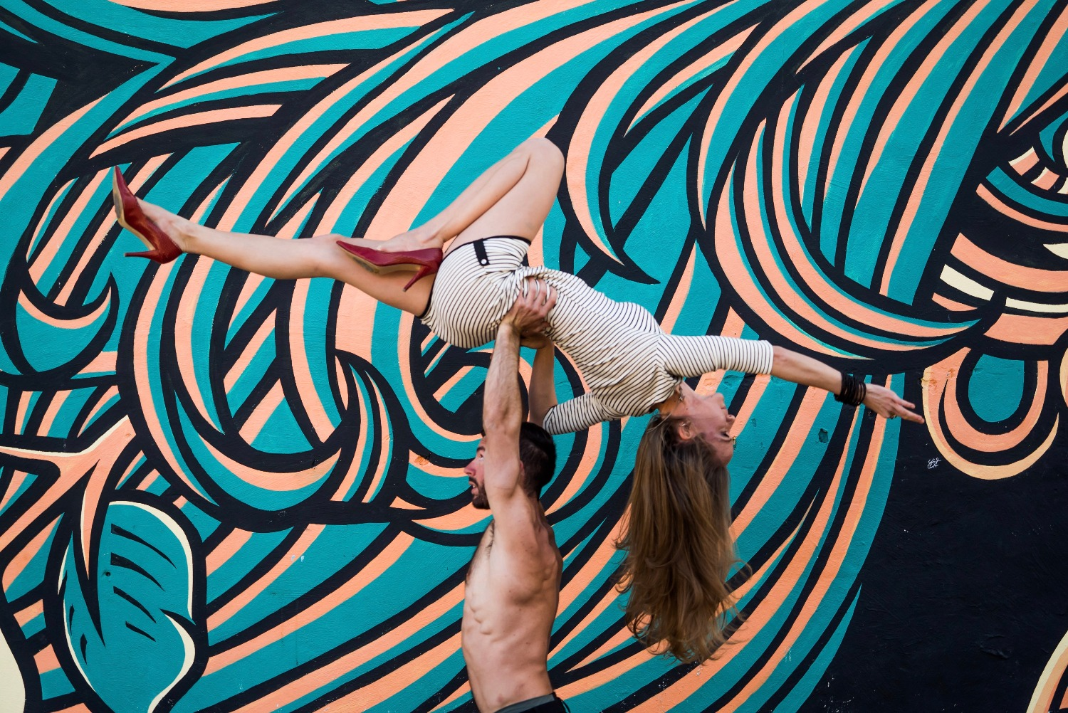 Learn the art of Acro Yoga!