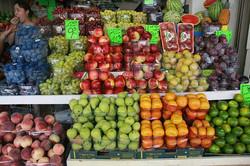 Buy fresh fruit at Shuk Ha'Carmel