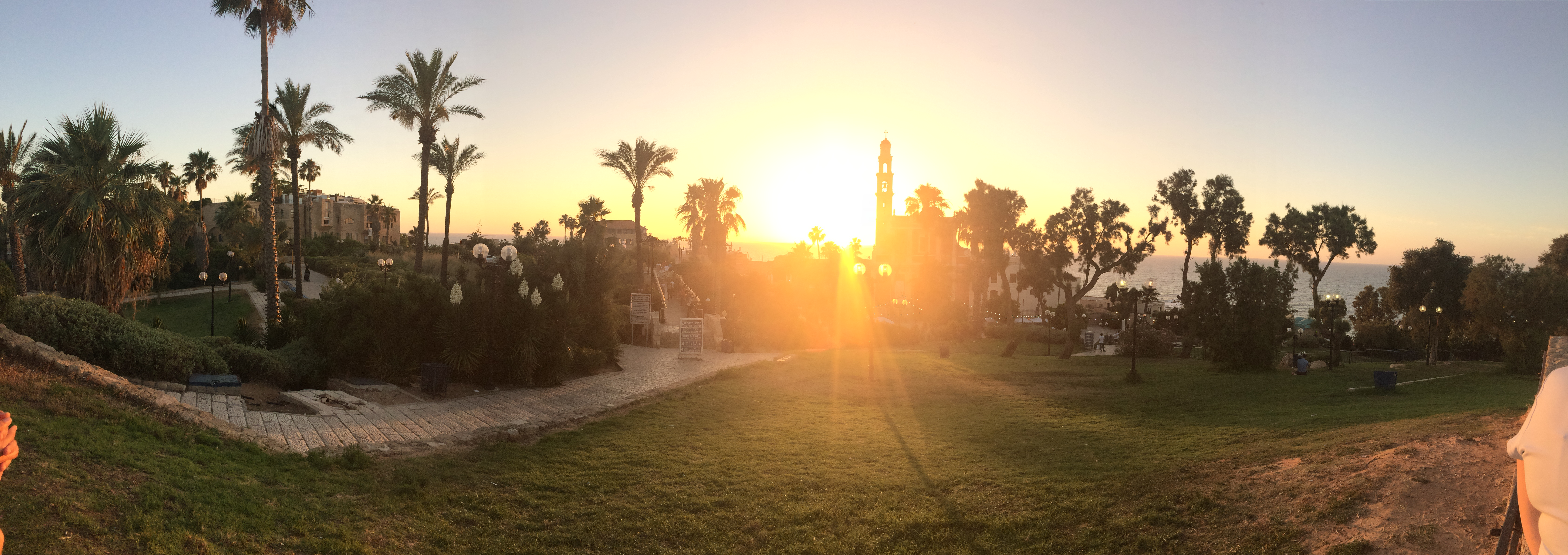 Sunset in Old Yafo