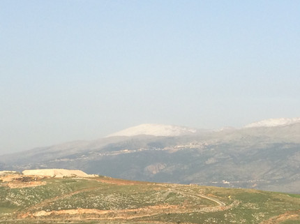 Beautiful views of the Northern Israel