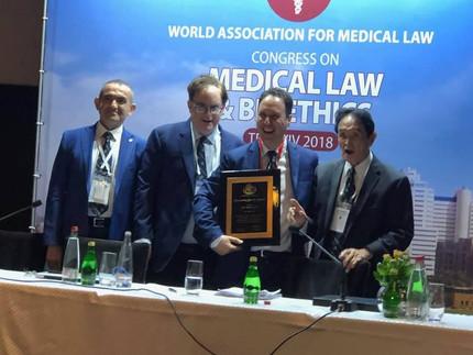 Outstanding Service Award to Dr. Oren Asman