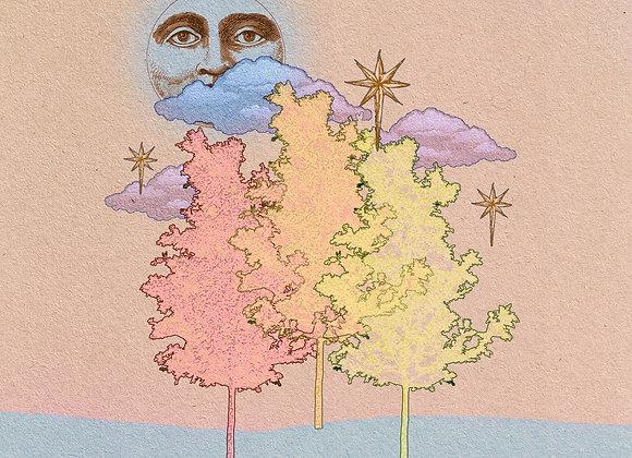 Autumnal Moon Print