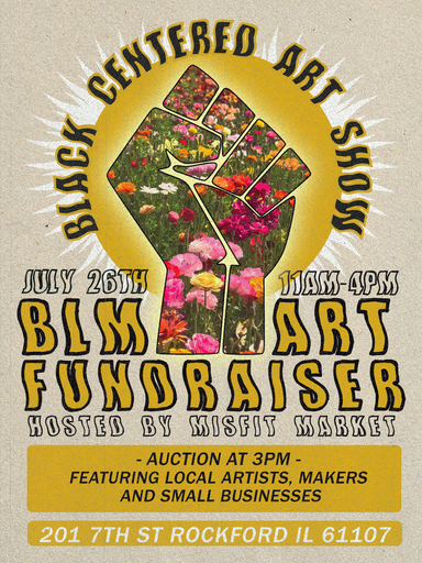 BLM Fundraiser at Just Goods