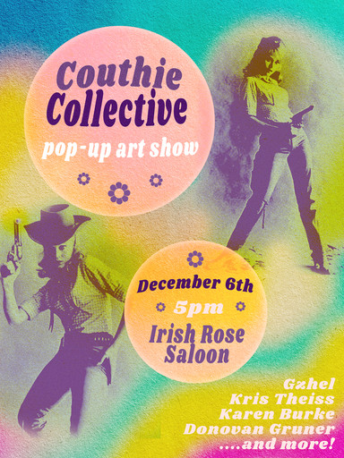 Couthie Co Art Show Poster