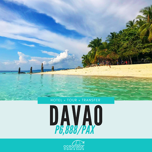 DAVAO PACKAGE (3 DAYS 2 NIGHTS)